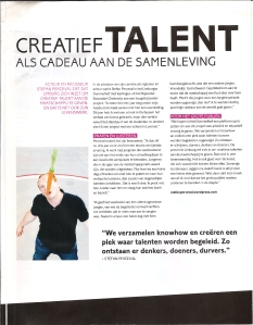 talent als kado artikel